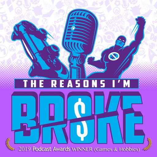 Cover art for podcast The Reasons I'm Broke