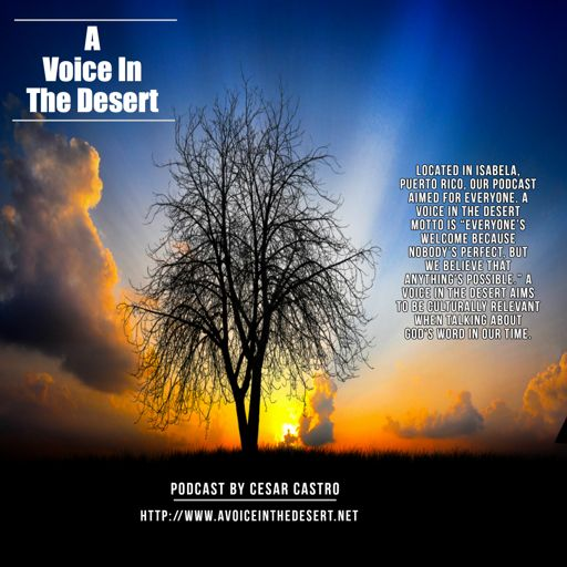 Cover art for podcast A Voice in The Desert Podcast