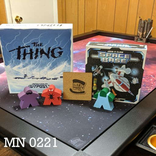 MN 0221 Space Base and The Thing: Infection at Outpost 31 from