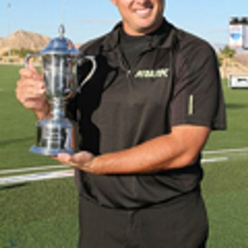 World Long Drive Champ Ryan Winther and Max Muscle's Mark