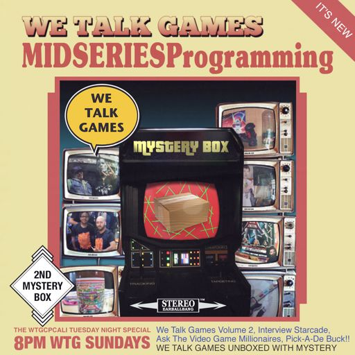 We Talk Games Mid Series Programming 2,191 Mystery Box 0002 from We