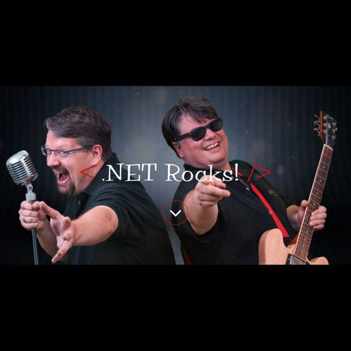 Cover art for podcast .NET Rocks!