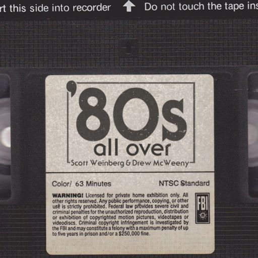 Cover art for podcast '80s All Over