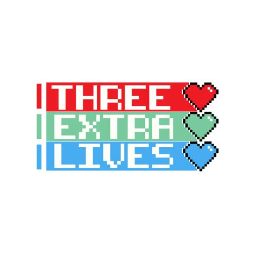 Cover art for podcast Three Extra Lives