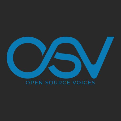 Cover art for podcast Open Source Voices