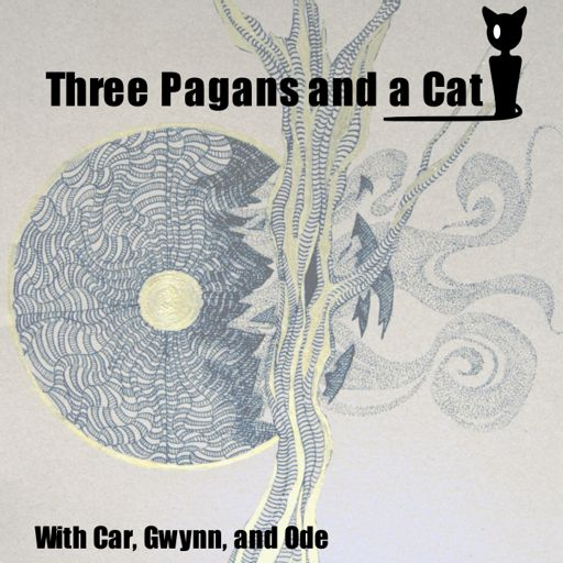Cover art for podcast 3 Pagans and a Cat