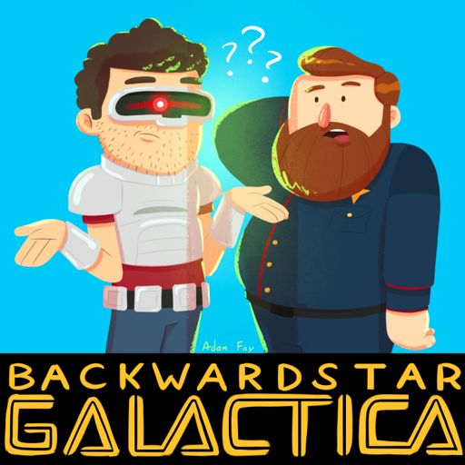 Cover art for podcast Backwards Star Galactica