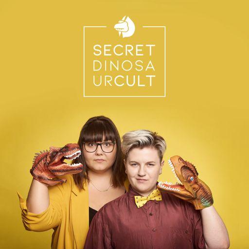 Cover art for podcast Secret Dinosaur Cult