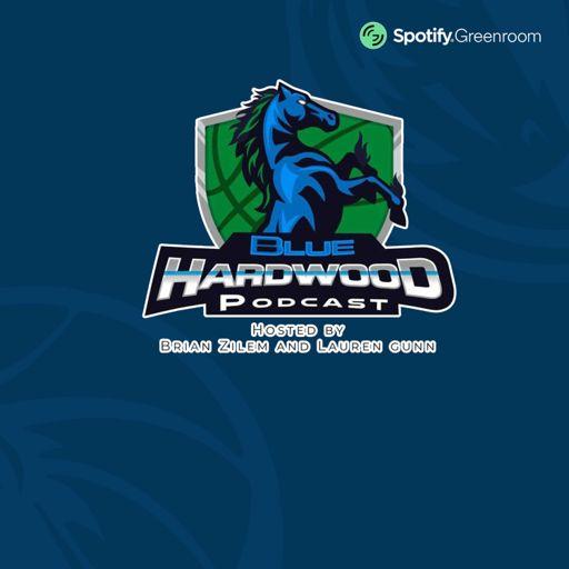 Cover art for podcast Blue Hardwood- A Dallas Mavericks podcast