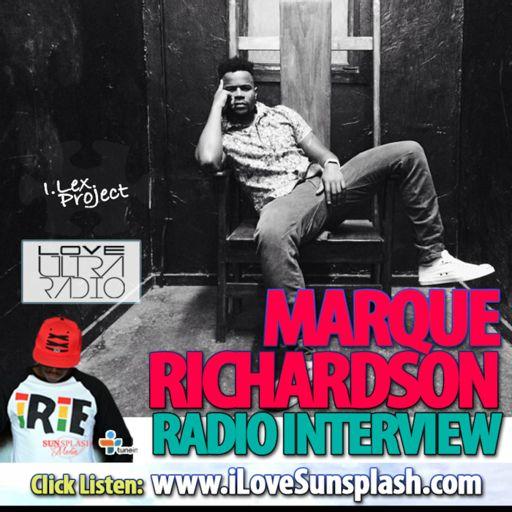 Love Ultra Radio Marque Richardson Interview from Sunsplash