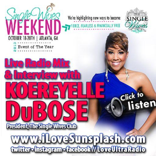 Love Ultra Radio Koereyelle DuBose Interview from Sunsplash