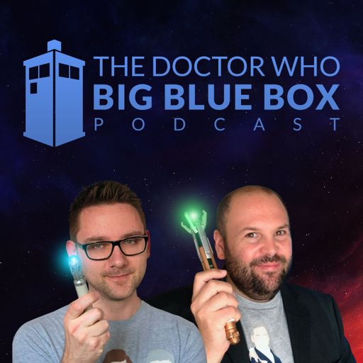 Cover art for podcast The Doctor Who Big Blue Box Podcast