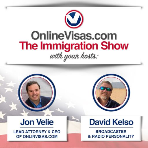 Cover art for podcast OnlineVisas.com: The Immigration Show