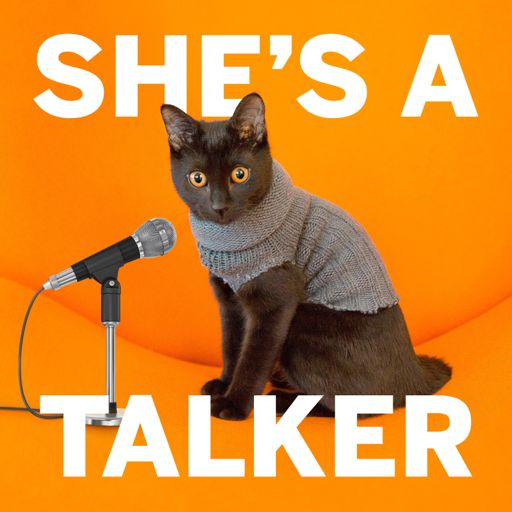 Cover art for podcast She's A Talker