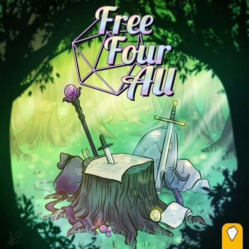 Cover art for podcast Free Four All - an Actual Play RPG Adventure