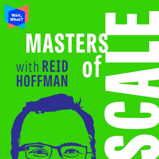 Cover art for podcast Masters of Scale with Reid Hoffman