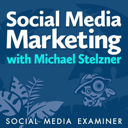 Cover art for podcast Social Media Marketing Podcast