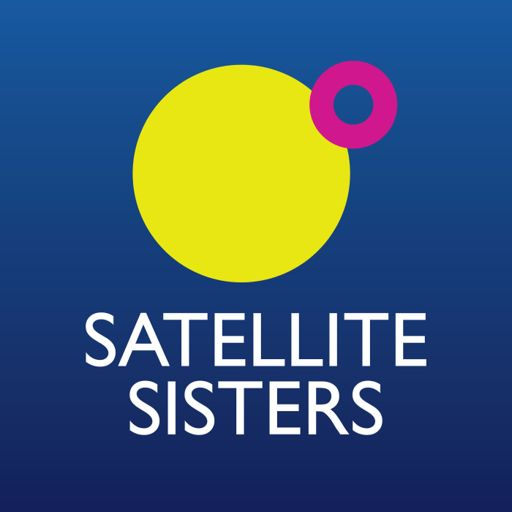 Cover art for podcast Satellite Sisters