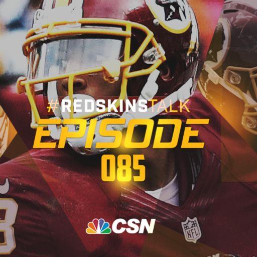 Episode 85 - Josh Doctson injury latest, plus Jonathan Allen