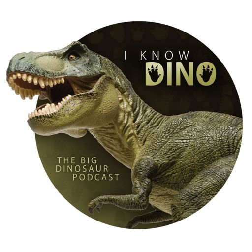 Cover art for podcast I Know Dino: The Big Dinosaur Podcast