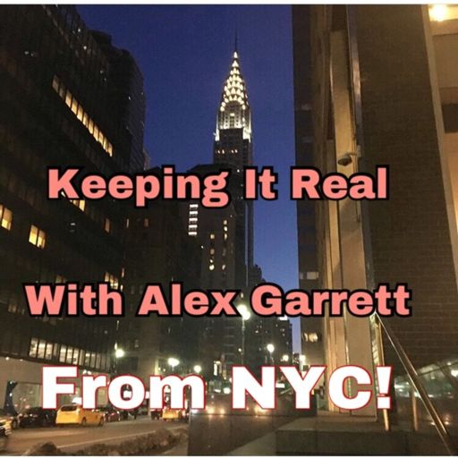 Cover art for podcast Keeping It Real With Alex Garrett Podcasting