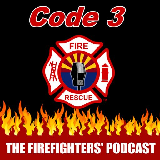 Cover art for podcast Code 3 - The Firefighters' Podcast