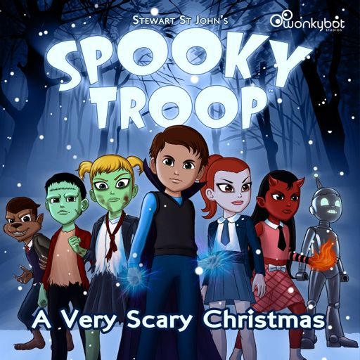 Cover art for podcast Spooky Troop: A Very Scary Christmas