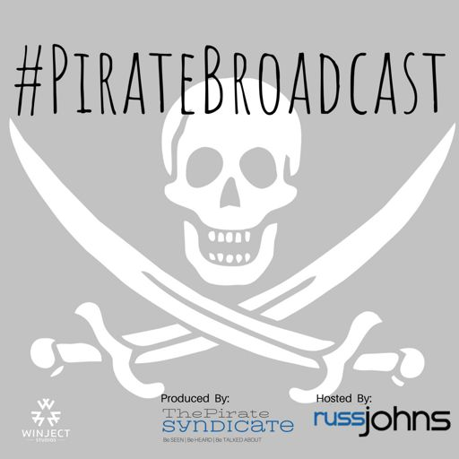 Cover art for podcast #PirateBroadcast
