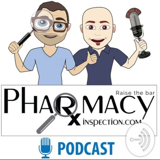 Cover art for podcast Pharmacy Inspection Podcast