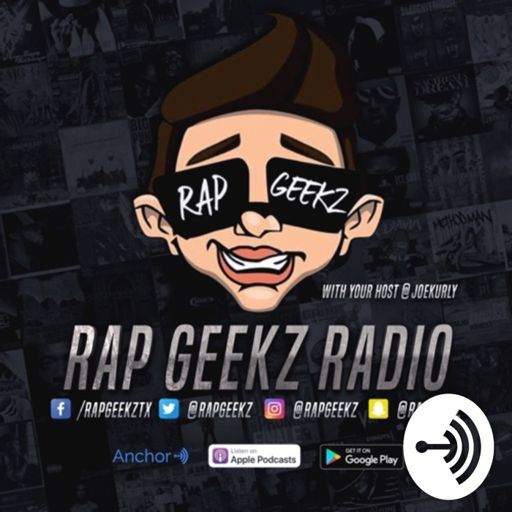 Cover art for podcast RAP GEEKZ RADIO