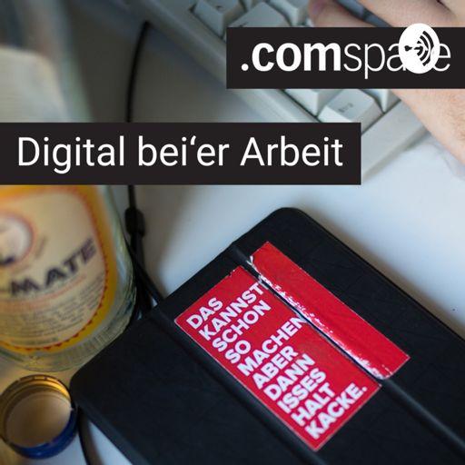 Cover art for podcast Digital bei'er Arbeit - der comspace Podcast aus Bielefeld