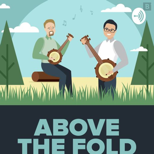 Cover art for podcast Above the Fold - Marketing and Laughs