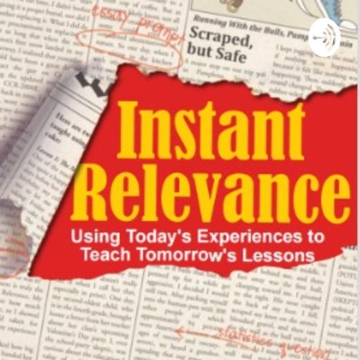 Cover art for podcast Instant Relevance Podcast