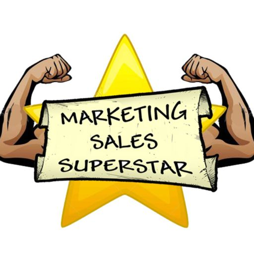 Cover art for podcast The Marketing Sales Superstar