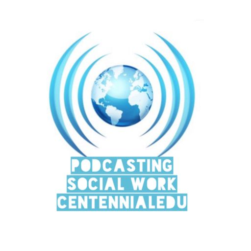 Cover art for podcast Podcasting Social Work