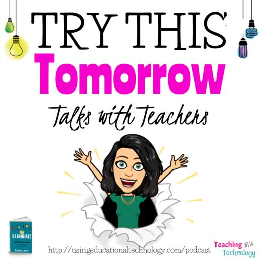 Cover art for podcast Try This Tomorrow: Talks with Teachers