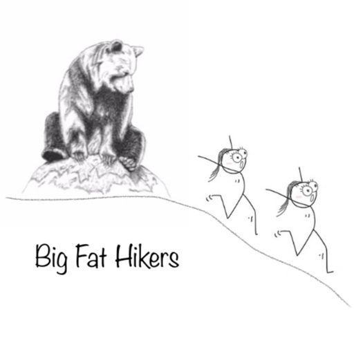 Cover art for podcast Big Fat Hikers