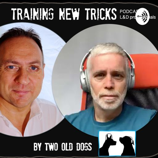 Cover art for podcast TRAINING NEW TRICKS, by Two Old Dogs