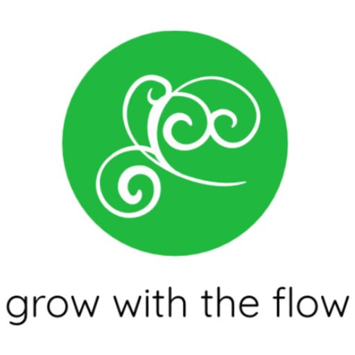Cover art for podcast grow with the flow