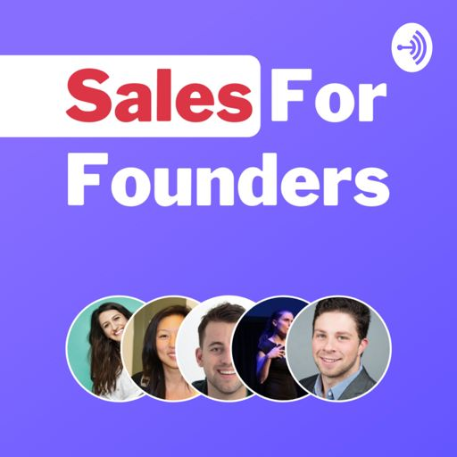 Cover art for podcast Sales For Founders