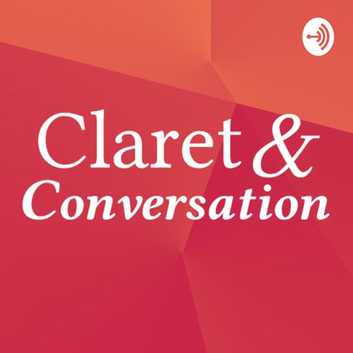 Cover art for podcast Claret & Conversation: Voices from the Creative Industry