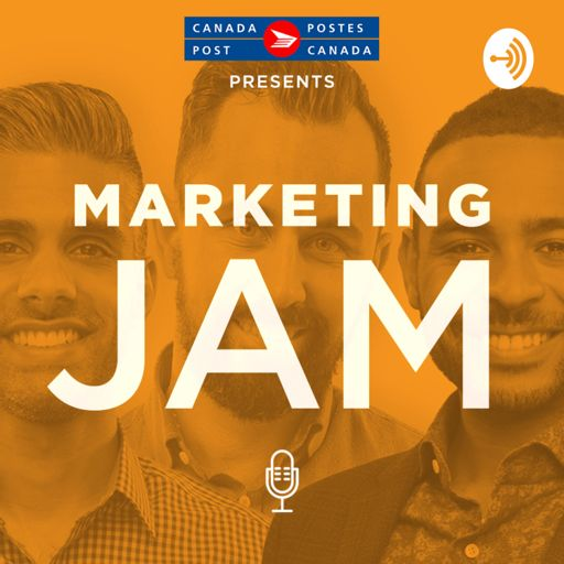 Cover art for podcast Marketing Jam