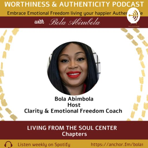 Cover art for podcast Living in Worthiness & Authenticity