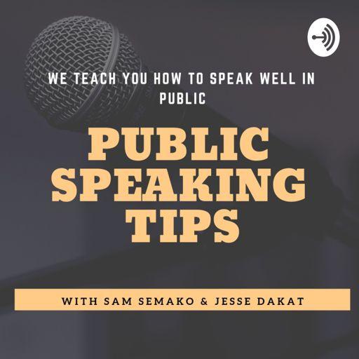 Cover art for podcast Public Speaking Tips
