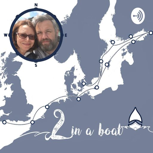 Cover art for podcast 2 in a boat