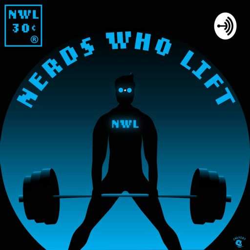 Cover art for podcast Nerds Who Lift Podcast