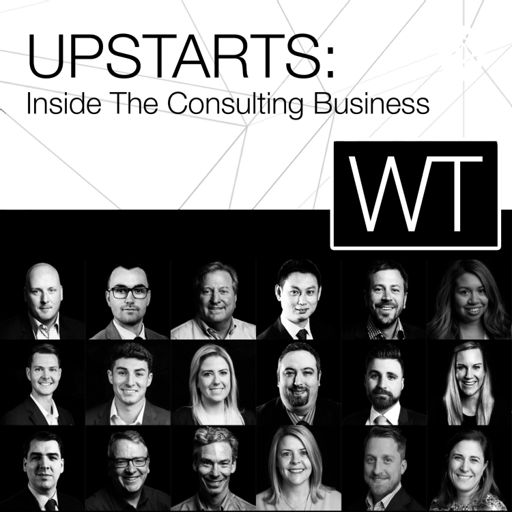 Cover art for podcast UPSTARTS: Inside The Consulting Business