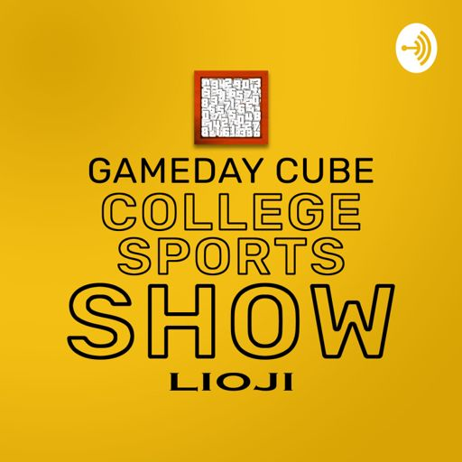 Cover art for podcast Gameday Cube College Sports Show