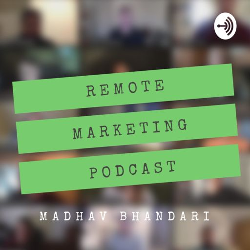 Cover art for podcast Remote Marketing Podcast