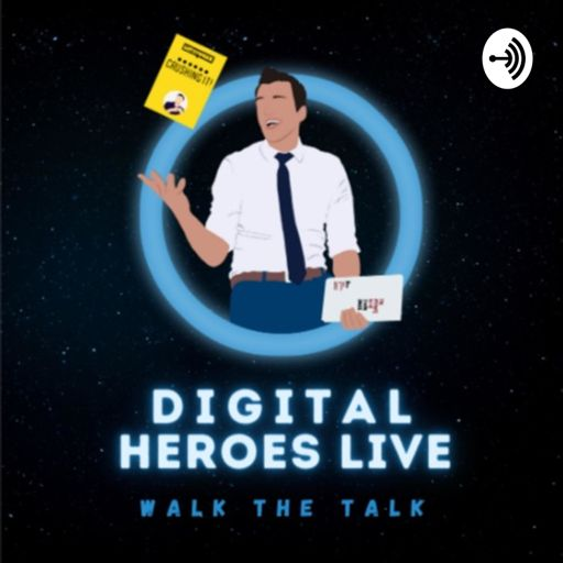 Cover art for podcast Digital Heroes Live
